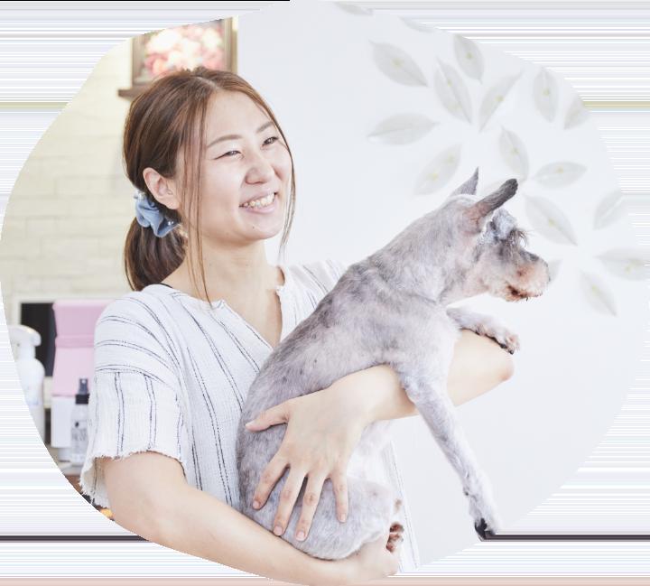 Dog salon OZ 南草津店muniのスタッフ
