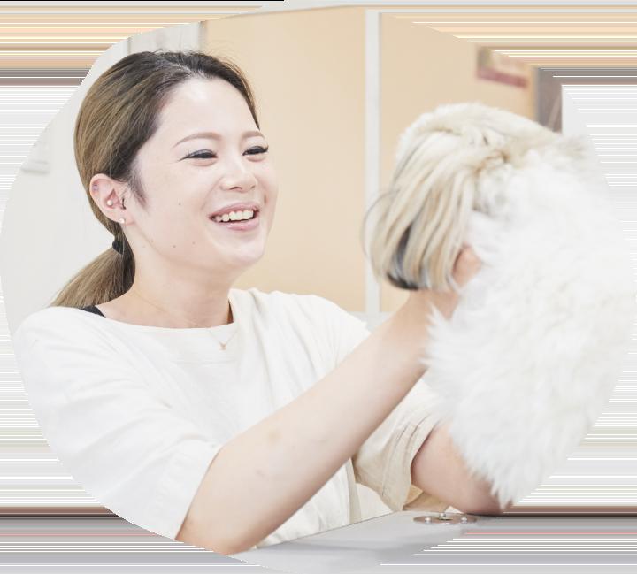 Dog salon OZ 守山しっぽ動物病院店のスタッフ